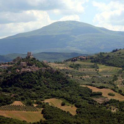 Castiglion d'Orcia da Vignoni