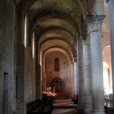 Abbazia Sant'Antimo - Navata laterale