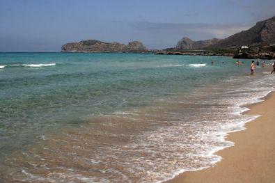 La spiaggia di Falasarna