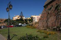 Le mura del centro storico di Chania