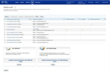 Gestione account e-mail