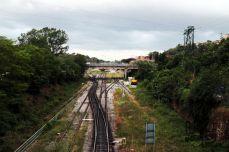 Scambi ferroviari alla stazione FFSS di Siena
