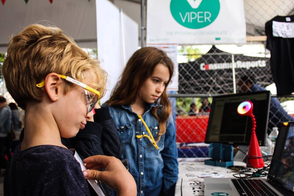 Great success for VIPER at World Maker Faire New York 2015