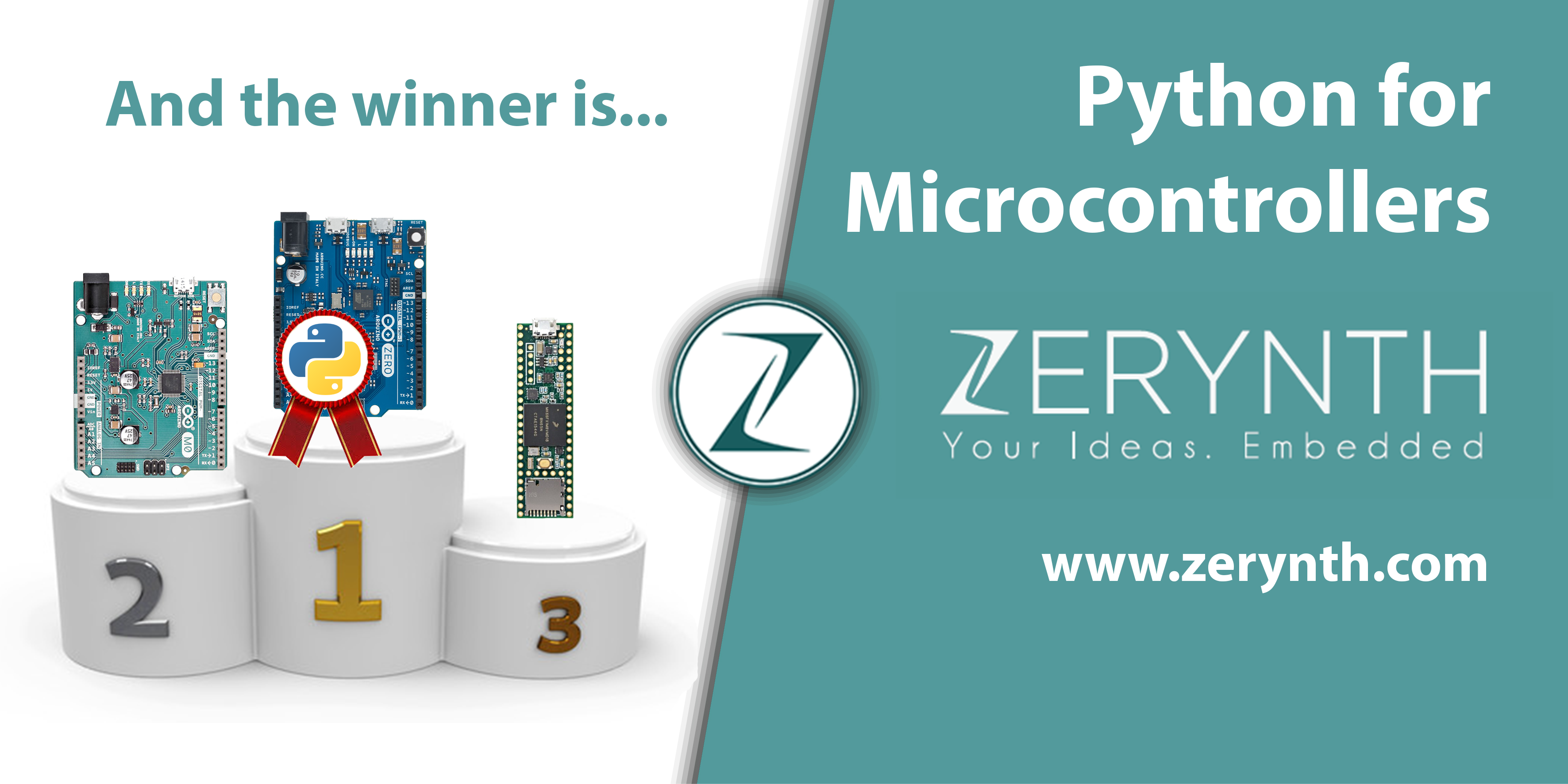 Python for Microcontrollers: and the winner is…