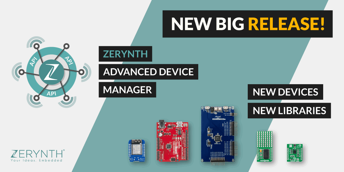 Zerynth release 2.0.5: introducing the Zerynth ADM and many new supported devices