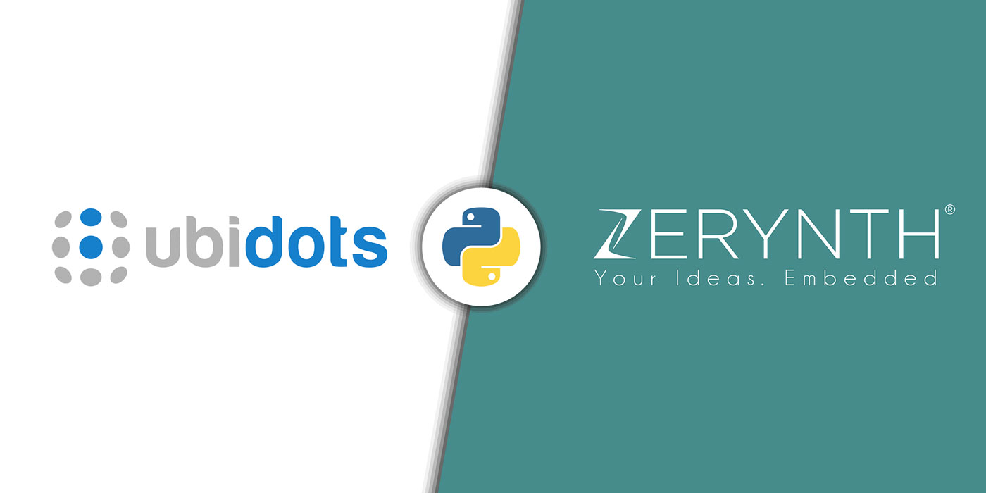 Zerynth and Ubidots announce a technology partnership to simplify IoT development using Python