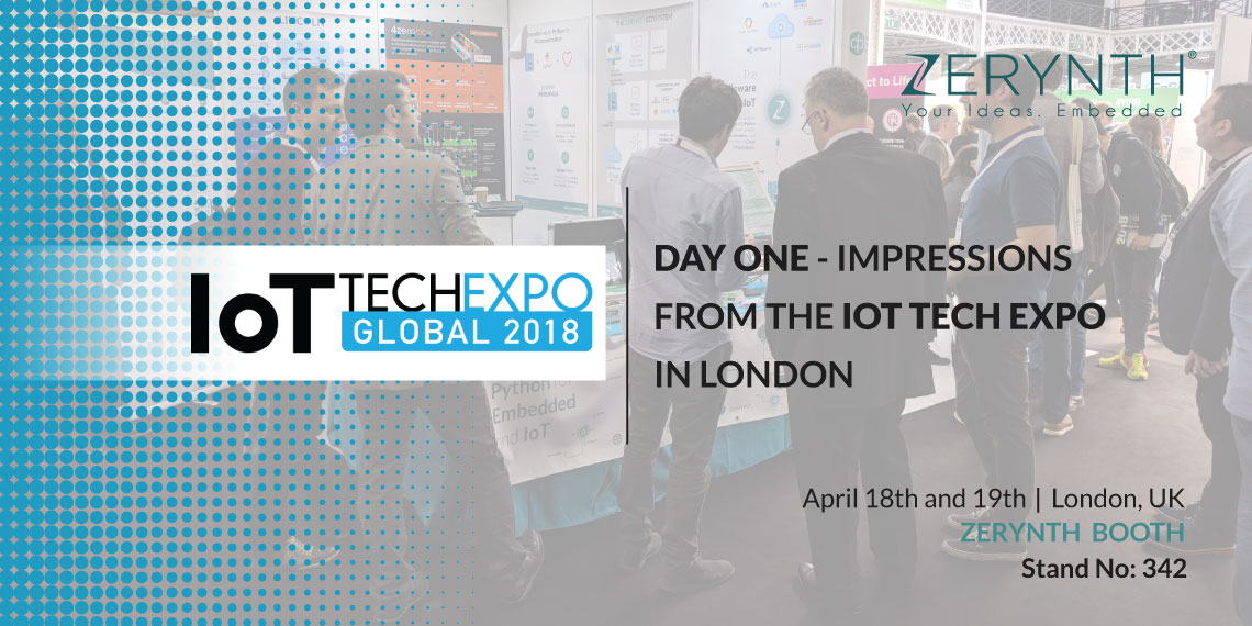 Day one – Impressions from the IoT Tech Expo in London