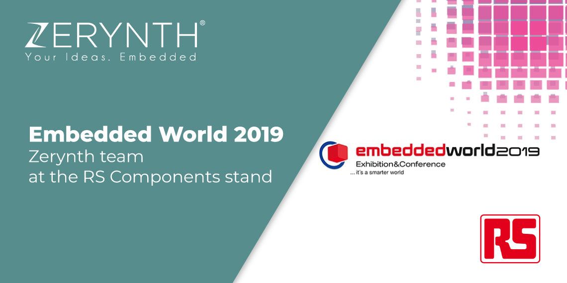 Embedded World 2019 – the Zerynth team at the RS Components stand