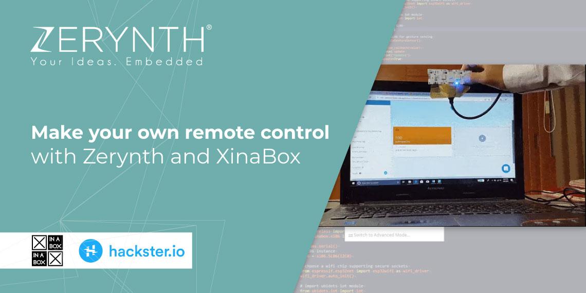 Zerynth XinaBox remote control tutorial