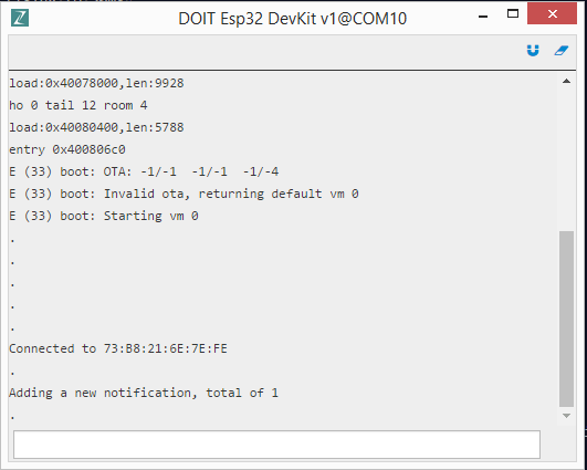 Design Bluetooth BLE Applications in Python on ESP32 using