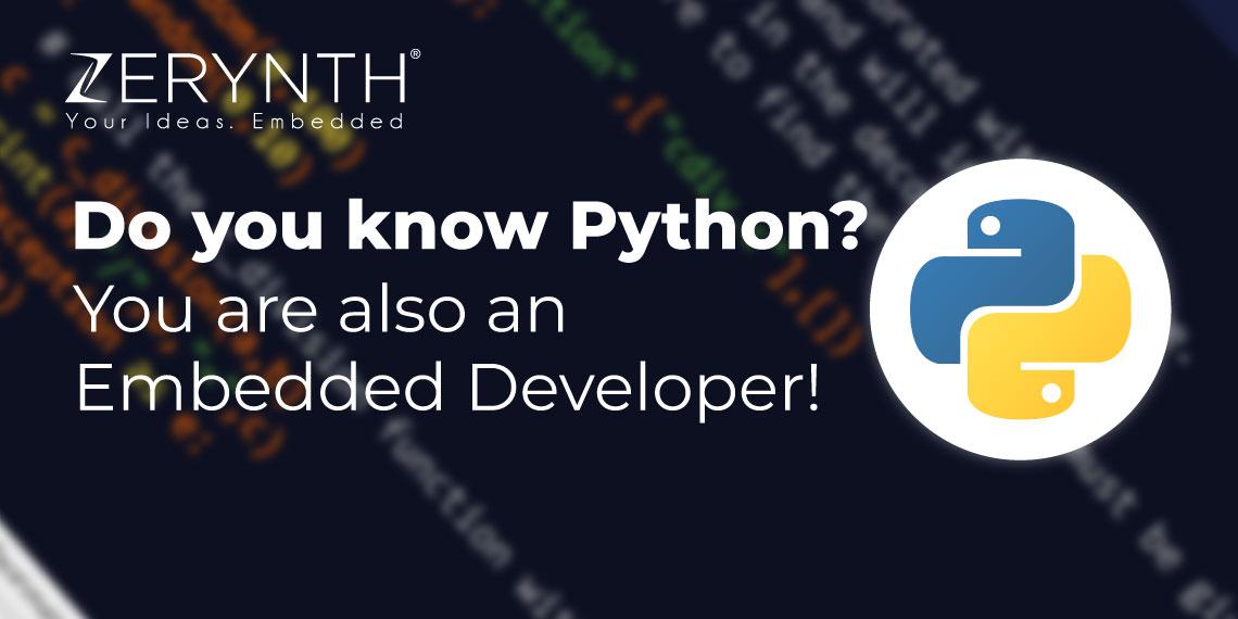 Python Zerynth Developer tutorial post