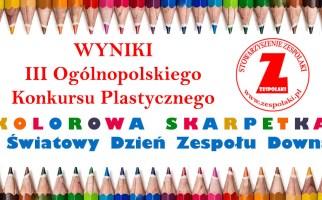 Wyniki III Ogólnopolskiego Konkursu Plastycznego