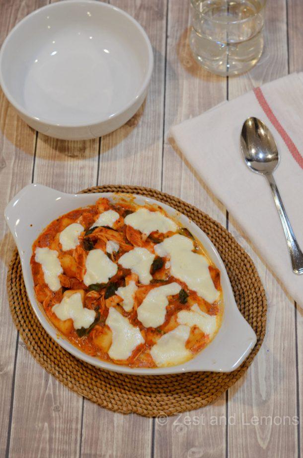 Chicken and Spinach Gnocchi
