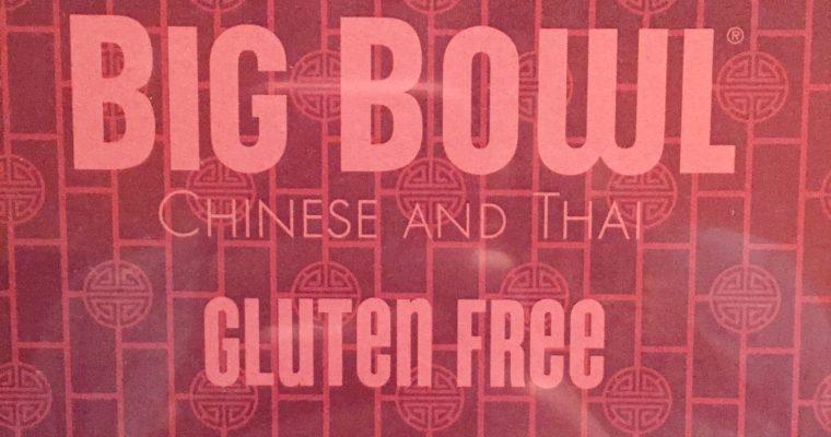 Gluten Free at Big Bowl