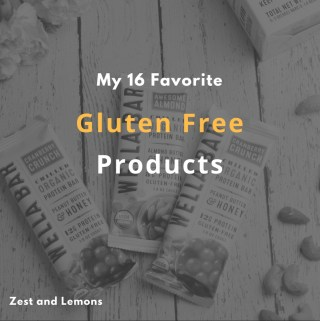 My 16 Favorite Gluten Free Products