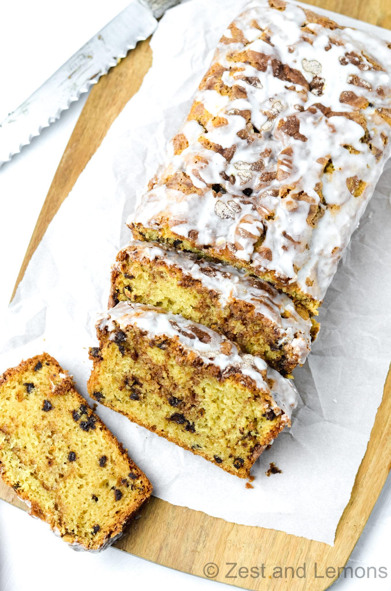 Gluten Free Cinnamon Swirl Bread