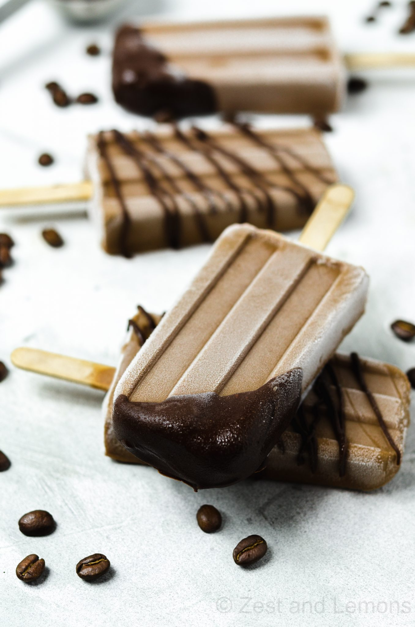 Cashew Coffee Popsicles (GF, DF, V)