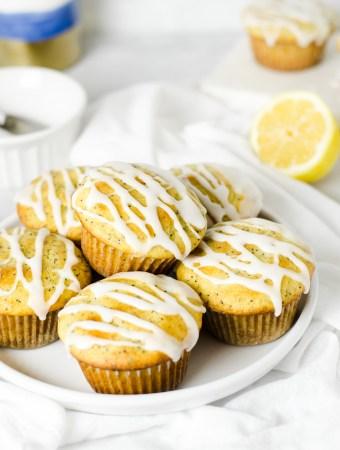 Gluten free lemon poppy seed muffins - Zest and Lemons