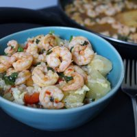 Chili Lime Coconut Balsamic Shrimp
