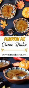 Pumpkin Pie Creme Brulee Pinterest Image