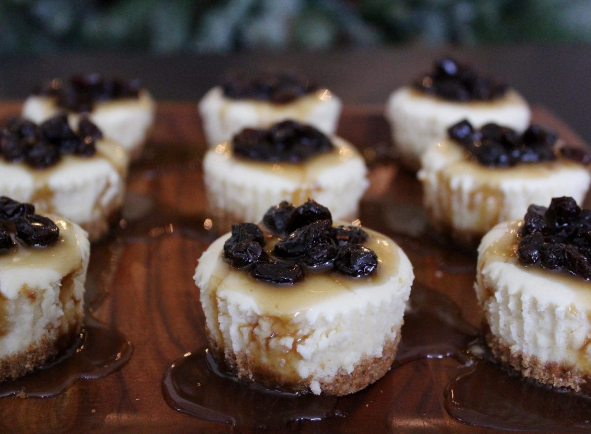 Mini Butter Tart Cheesecakes