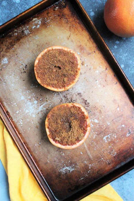 grapefruit pre-broiling