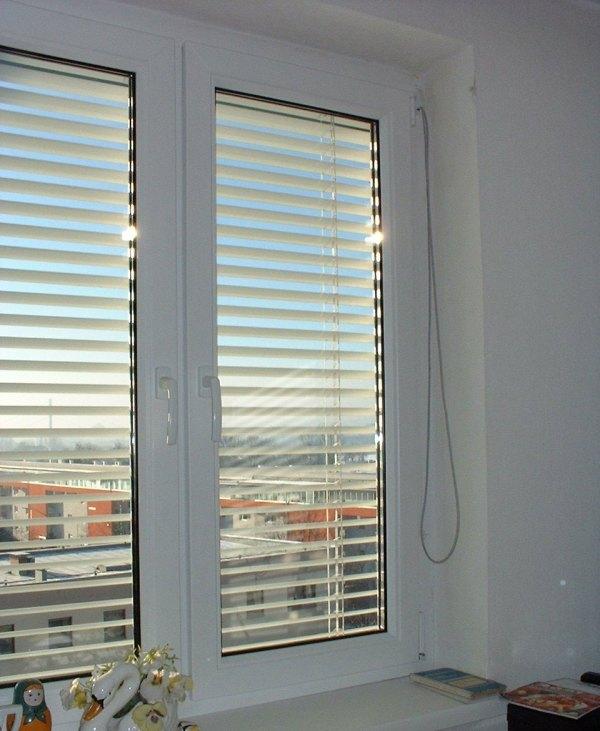 Стандартное пластиковое окно фото