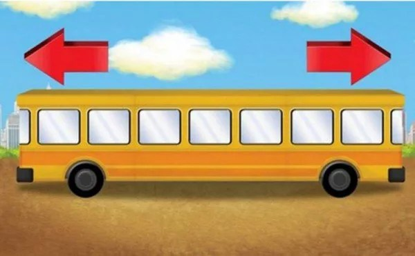 which side bus