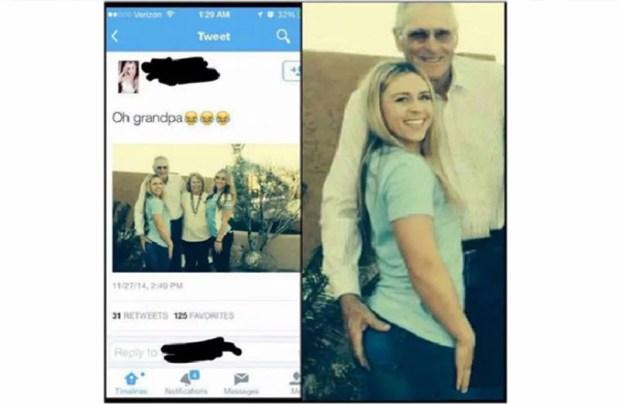 grandpa touch her