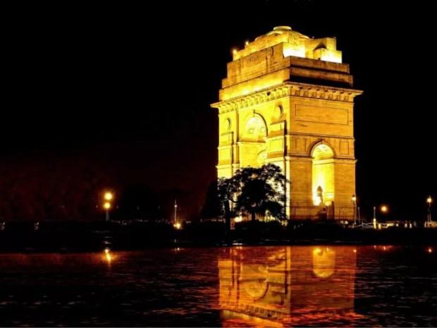 India Gate delhi romantic night view