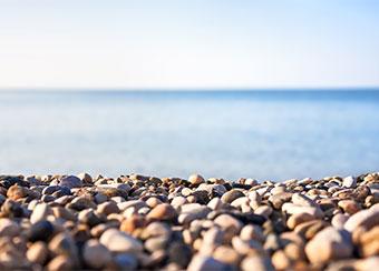 Case Study: IICT. Pebble beach picture.