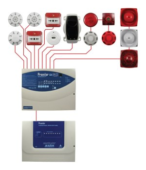 Conventional Fire Alarm Systems Typical Wiring Diagram
