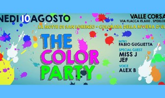 The Color Party - Valle Corsari - 10 Agosto 2015