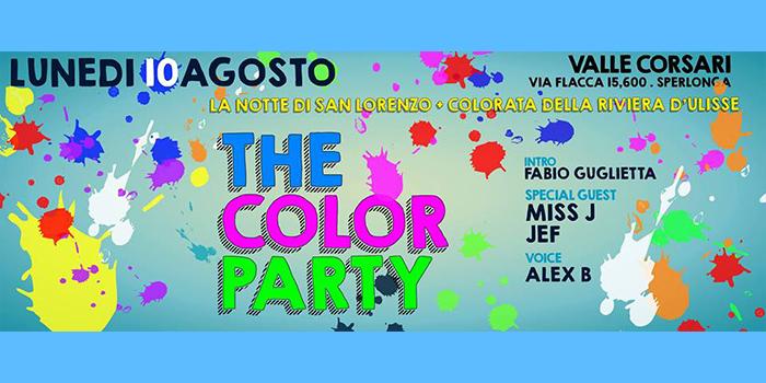 The Color Party - Valle Corsari - 10 Agosto 2015
