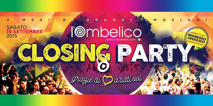 Ombelico Latina - Closing Party - 19 Settembre 2015