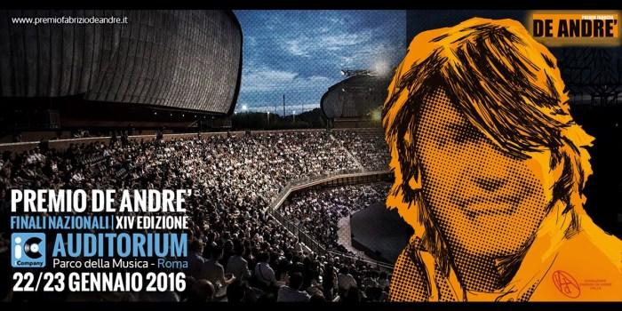 Premio Fabrizio De Andre - Roma 2016