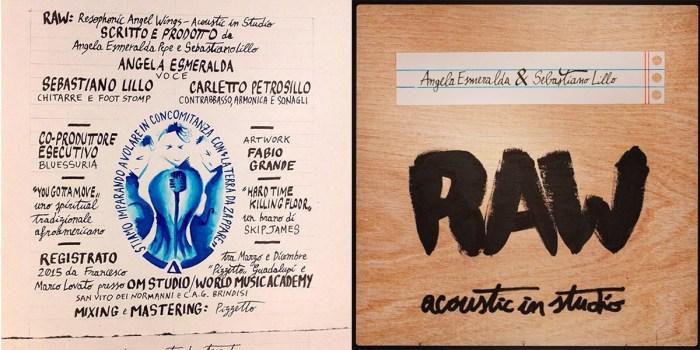 Angela Esmeralda - Sebastiano Lillo - Raw Acoustic in Studio
