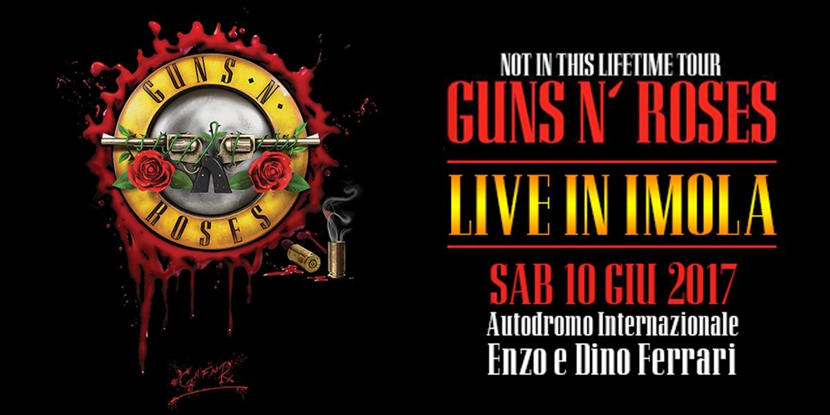 Guns N Roses - Imola 2017