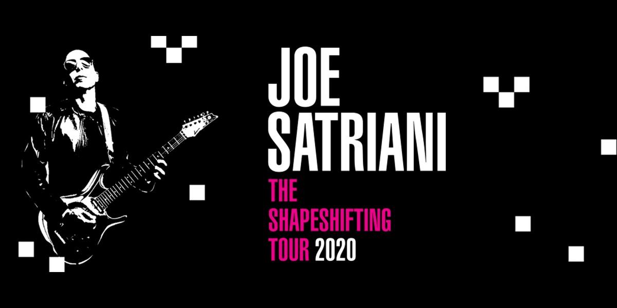 Joe Satriani - The Shapeshifting Tour