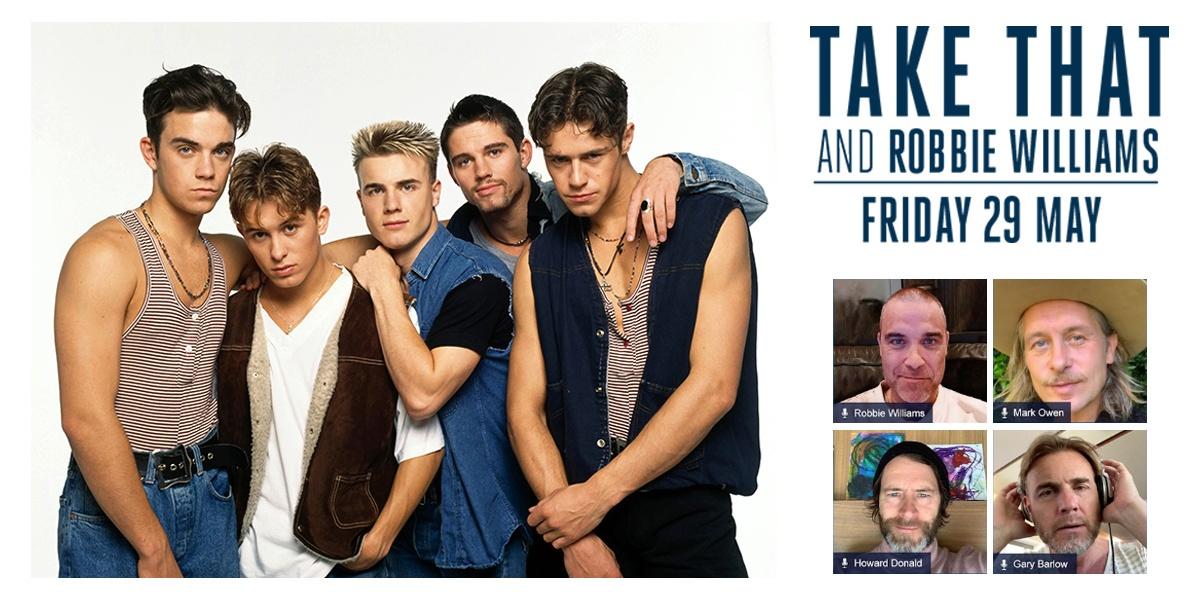 Take That - 90s - Robbie Williams 2020