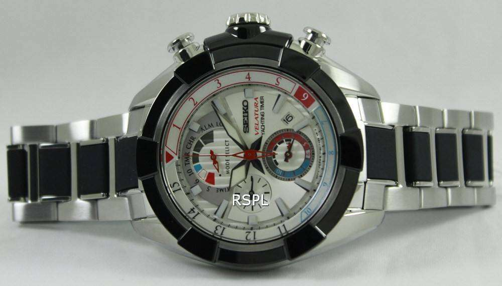 Seiko Velatura Yachting Timer Chronograph SPC145P1 SPC145P