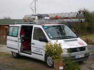 Camion de la société Irisée