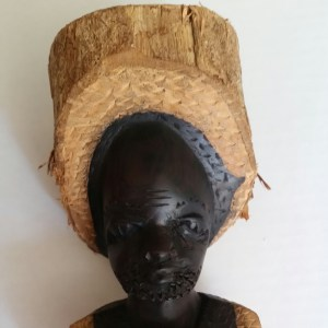 Wooden Carving from Malawi, Africa