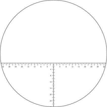 Vortex Optics VIPER? HD RETICLE EYEPIECE - Ranging (MOA) Reticle (VS-85REA) 1
