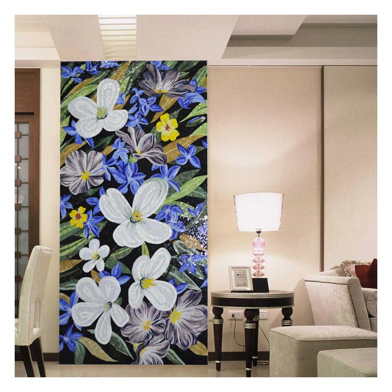 same sicis flower mosaic art