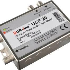 Einkabel DUR-line UCP20 jeden kabel na 2x R-RT-SAT