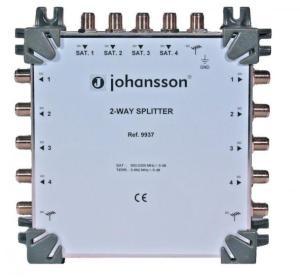 RozgałęŸnik 4 x SAT+Terr. Johhanson Typ.9937