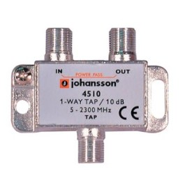 1 WAY TAP OdgałęŸnik 1-krotny Johansson 10 dB 4510