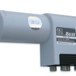 LNB Quad BEST HQRF 404 0,1dB Lens