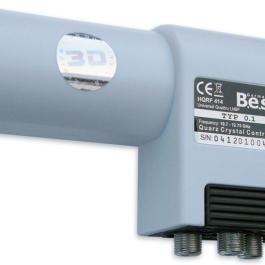 LNB Quatro BEST HQRF 414 0,1dB Lens